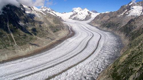 Schweizer Alpen Jungfrau-Aletsch