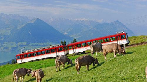 Zahnradbahn Rigi