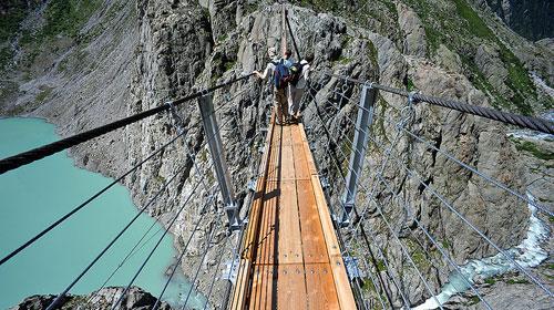 Hängeseilbrücke Trift